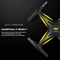 Hanbaili KY501 Remote Control Quadrocopter Drone,One Key Takeoff/Landing/Return 3D Flips Aerobatics Drone with Headless for Kids & Beginners