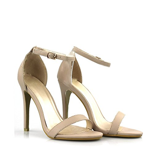 Tacón Zapatos Pu Diva Miss nude Crudo Mujer Con 1q84w5t