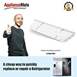 Appliancemate2206670W Freezer Overflow Grille fit for Whirlpool KitchenAid Maytag Refrigerator