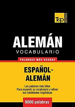 Vocabulario español-alemán - 9000 palabras más usadas (Spanish collection nº 18) (Spanish Edition)