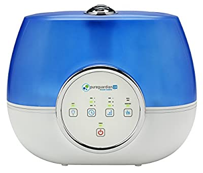 PureGuardian RH4810 120-Hour Ultrasonic Warm and Cool Mist Humidifier, Factory Reconditioned