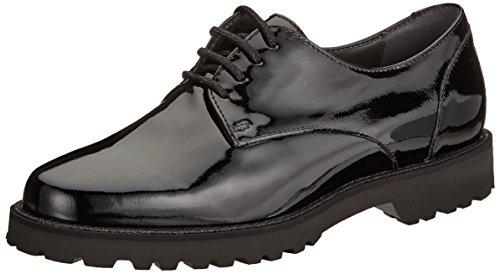 Cordones de para Schwarz Sioux Mujer Derby 000 Vedika Negro Zapatos qxOOwXtg