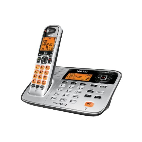Uniden D1685 Cordless Phone/Answering System with Speakerphone