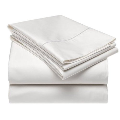 Gotcha Covered TERRA Collection KING Size American Leather Comfort Sleeper 100 Percent Tencel Sheet Set - Sleeper Profile Up to 5 inch Pearl