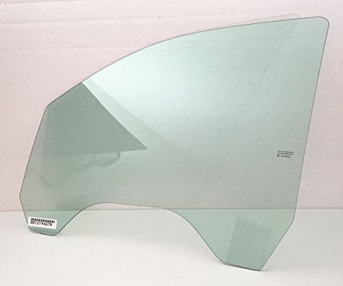 (NAGD Fits 2014-2018 Chevrolet Silverdao & GMC Sierra (C1500 K1500 C2500 K2500 C3500 K3500) 4 Door Pickup Driver Side Left Front Door Window Glass)