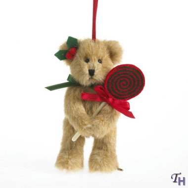 Boyds Candykins Plush Bear Ornament