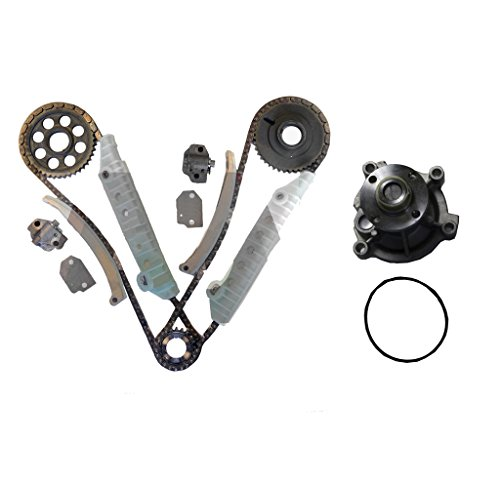 Ford Expedition Diamond - Diamond Power Timing Chain kit & Water Pump set works with Ford Expedition F-150 E-150 Econoline 4.6L 281Cu. In. V8 GAS SOHC 1997-2000