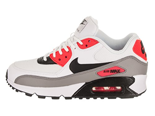 Air Max solar black Nike Wmns White Femme 90 Red dust Baskets wqrq5EHBC