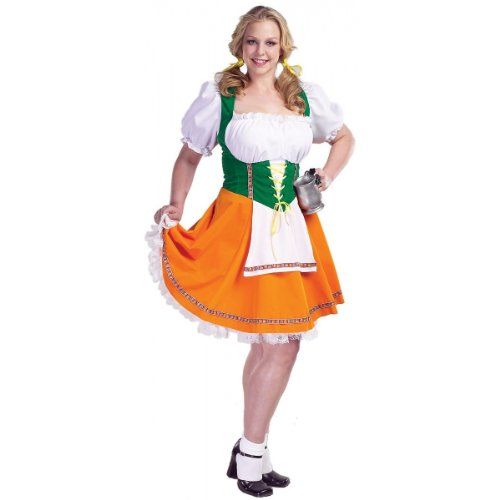 Swiss Miss Adult Costume - (Swiss Miss Halloween Costume)