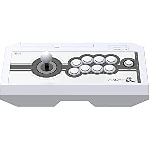 Hori Real Arcade Pro. Kai - Flight Stick: White for PlayStation 4