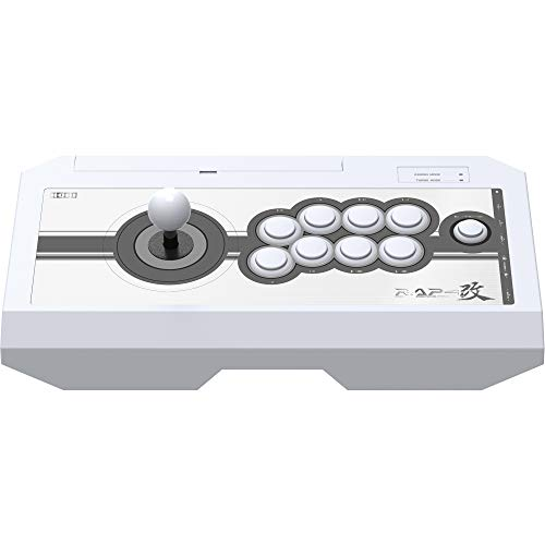 HORI Real Arcade Pro 4 Kai (White) for PlayStation 4, PlayStation 3, and PC (Best Joystick For Tekken 7)