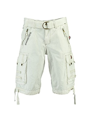 Bermuda Blanc Paparazzi Homme Geographical Norway Hw5vgnq7x