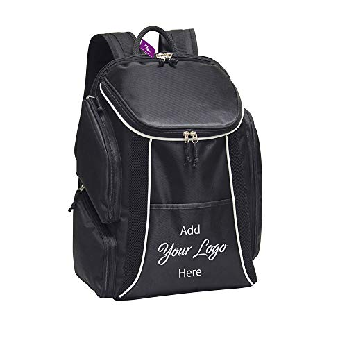 Logo Jacquard Messenger Bags - AJK Gifts Deluxe Sports Backpack / 24-Pieces/Promotional Product with Your Logo/Customized #PNJRK-ORSPW