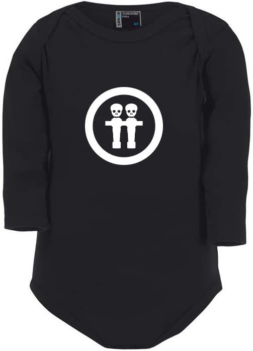 Cre9tive Shirts Futbolín Calavera, Body para bebé, Unisex: Amazon ...