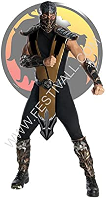 Festival Magia y Malabares Disfraz Mortal Kombat – Scorpion (R198 ...