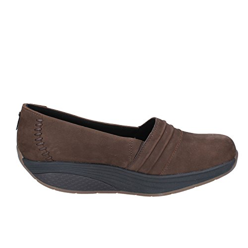 Noir 619u Slip Azima W 700352 MBT 619u Femme on Baskets Marron RZYaw4Swxq