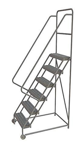 Tri-Arc KDTF106242 - Tilt and Roll Ladder 6 Step Serrated