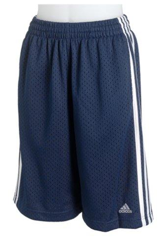 8791ac8f8b81 Adidas Girl s 3-Stripe Mesh Short