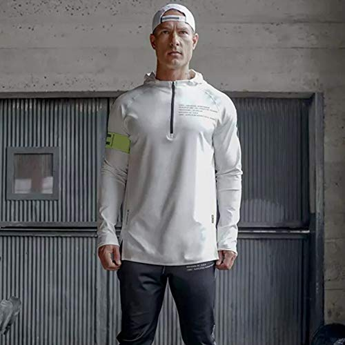 Maglione Nero Magliette 3D Felpe Maglietta Weant Uomo Maglia Uomo Sportivo Blouse Shirt Top Lunghe Maniche Uomo Bianco Top Maglietta Felpe Con Cappuccio Uomo Pullover Uomo Felpa Tumblr Bianca T 7CzxgBCqw