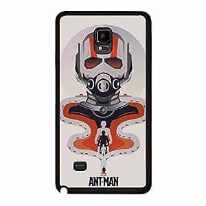 Back Funda,Samsung Galaxy Note 4 Plastic Hard Shell Funda,Ant-Man Marvel Funda