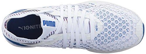 Mens Puma Accendono Netfit Cross-trainer-puma Scarpe Bianche-lapis Blu-toreador