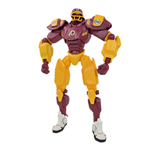 "NFL Shop Authentic Fox Sports Cleatus Robot. This 10"" Cleatus Football Robot will definitely be a crowd pleaser for any NFL Fan. A hit for Sports Fan from 4 to 94 (Washington Redskins)"