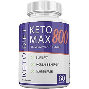 Amazon.com: Keto MAX 800 - Premium Weight Loss - Burn Fat ...