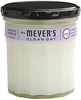 product image for Mrs. Meyer's Clean Day Scented Soy Aromatherapy Candle, 35 Hour Burn Time, Made with Soy Wax, Lavender, 7.2 oz
