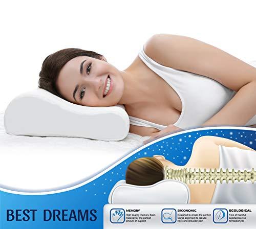 ZG-Home Memory Foam Queen Velvet Cover, Support...