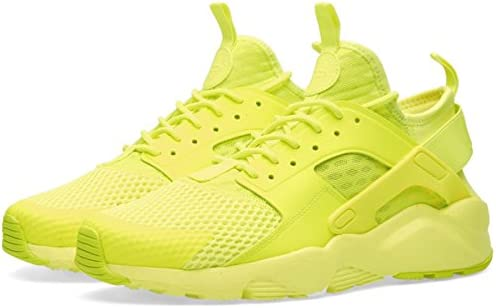 wholesale online for whole family buy cheap Nike Air Huarache Ultra Breathe Men's Trainers, Yellow Mesh FLUO ...