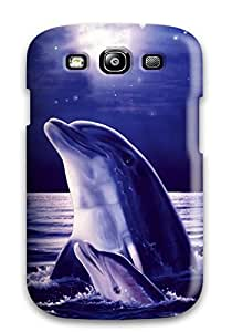 Defender Case For Galaxy S3, Dolphins Pattern