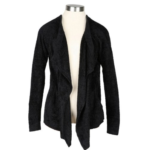 Barefoot Dreams Bamboo Chic Lite One Mile Cardigan (Midnight, Medium) by Barefoot Dreams