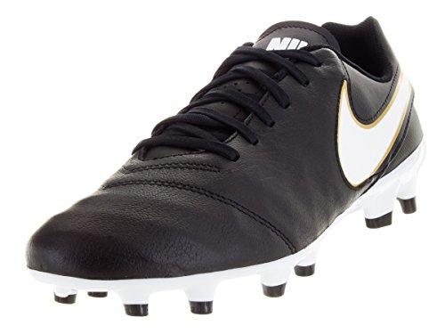 Il Il Il Chaussures De Football Tiempo Nike Comp Genio Noir Noir Noir Homme Tition Leather blanc T4RnEq