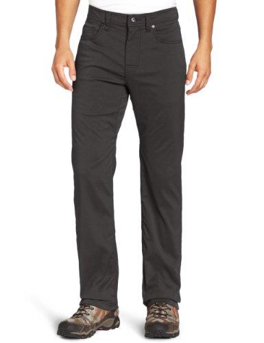 """prAna Men's Brion Pant 32"""" Inseam Pants, Size 35, Charcoal"""