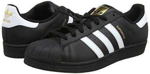 Unisex Adulto Zapatillas Black White Black ftwr Adidas core Superstar core Negro Originals xTgBWwHnqZ