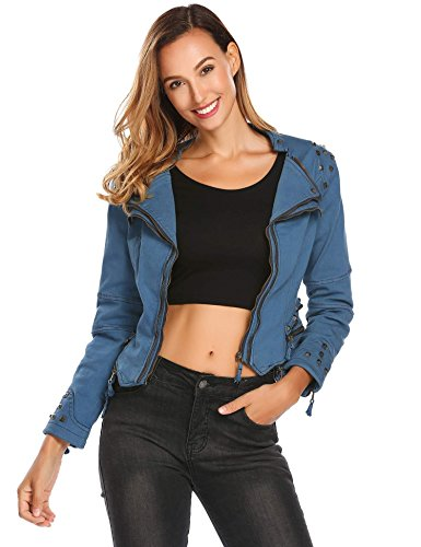 Denim Moto Jacket - 7