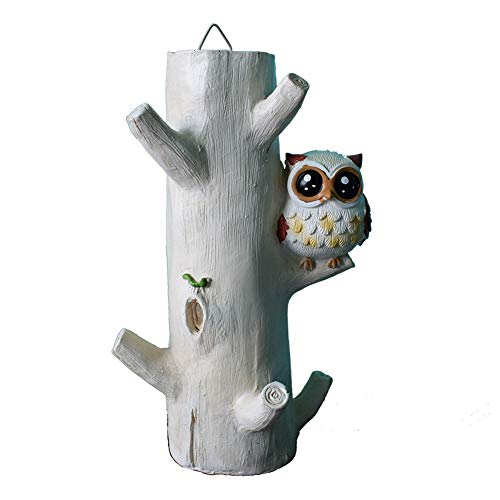 ADCorner Owl Design Key Holder Key Rack Key Hanger Decorative Wall Hook for Towels Hats Flower Vase Foyers Entryway Hallway Table Decor (owl)