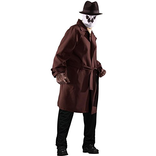 Men's Plus Size Watchmen Rorschach Costume