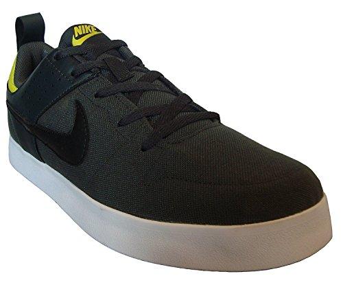 215ca0fbb8c Nike Liteforce Iii Dark Men s Grey Canvas Sneakers (669593-015) (Uk ...