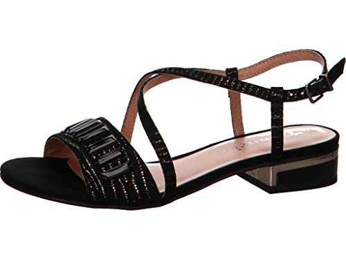 Tamaris 1-28221-20 Sandales Mode Femme Noir