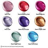 Arteza Metallic Acrylic Paint, Set of 8 Vibrant