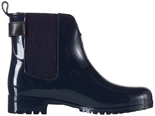 Tommy Hilfiger O1285xley 9r, Zapatillas de Estar por Casa para Mujer Azul - Blau (Midnight 403)