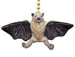 Winged Vampire Fruit Bat Megabat Ceiling Fan Light Pull