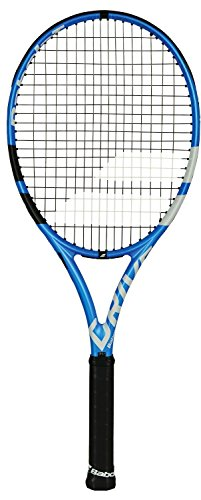 Babolat Pure Drive Tennis Racquet (4_3/8″ Inch Grip) Strung with Black String (Garbine Muguruza and Fabio Fognini's Racket)