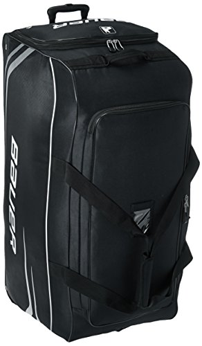 Bauer S14 Goalie Premium Wheel Bag, Black, Large (Bauer Skates Bag)
