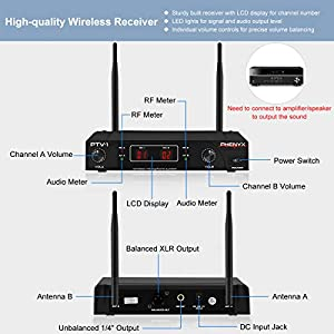 Wireless Microphone System, Phenyx Pro VHF Co...