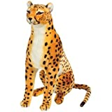 Melissa & Doug Giant Cheetah - Lifelike Stuffed Animal (over 4 feet long)