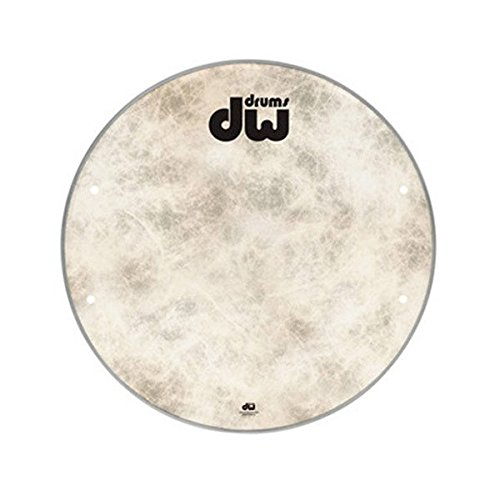 DW 20 Fiberskyn Bass Drum Head Drum Workshop DRDHFS20K