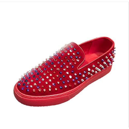 de Slip Tachuelas con con Comodidad Un para Zapatos conducción Zapatillas Zapatos Mocasines y Zapatos Hombres Ons Novedad Plataforma de Bajas xT0Uwq6OIT