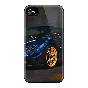 Defender Case With Nice Appearance (pagani Zonda Tricolore) For Iphone 4/4s